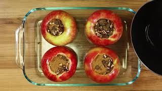 Hot And Sweet Baked Apples