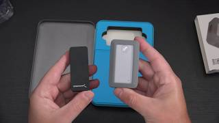 Sabrent 2TB Rocket Nano Rugged NVMe unboxing - Fastest - Toughest SSD on the market