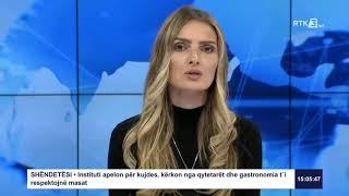 RTK3 Lajmet e orës 15:00 05.07.2020
