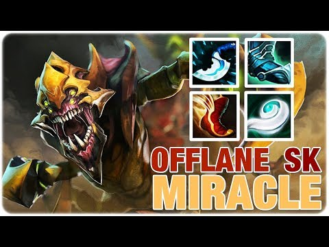 Miracle- Sand King OFFLANE Top Networth Epic Gameplay 7.21 Dota 2