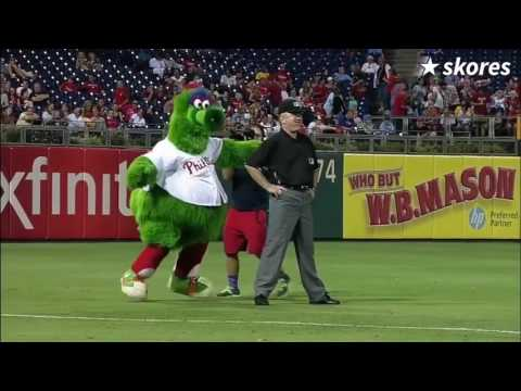 Funniest Mascot moments ever!!