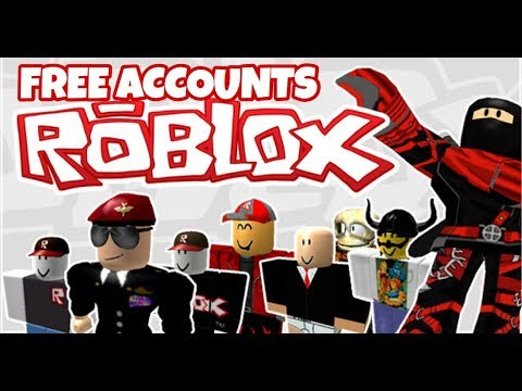 Free Roblox Accounts #1 - Vídeo ROBLOX