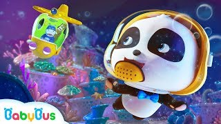 Baby Panda's Ocean Rescue Mission | Baby Panda's Magic Bow Tie | Magical Chinese Character | BabyBus