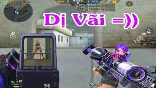 Cf Mobile Cf Legends 3z Anime KhẨu Sniper CÓ 2 TÂm NgẮm