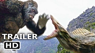 "KING KONG Official Trailer + CLIP ""The Fight"" (2017) Blockbuster Action Movie HD"