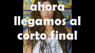Ashley Tisdale - Time's up (traducida al español) [FULL SONG][HQ]
