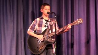"Fun's ""Why Am I The One"" at Talent Show by 12-year-old"