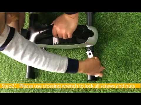 Installation Video for ANCHEER Under Desk Exercise Bike