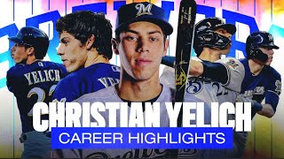 Christian Yelich Career Highlights (Brewers OF Signs $188.5 Million Contract Extension)