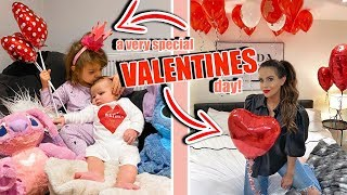 THE MOST SPECIAL VALENTINE'S DAY FULL OF SURPRISES!!