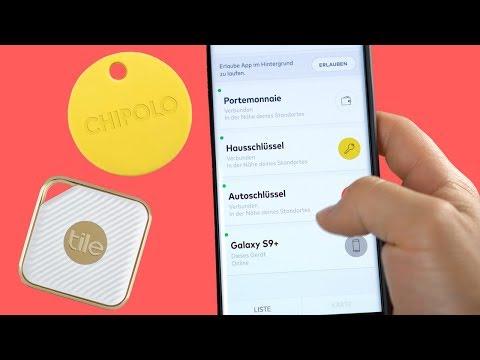 Tile & Chipolo Bluetooth-Tracker - Schlüsselfinder im Test