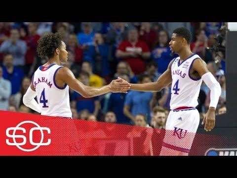 Kansas beats Penn in first round of NCAA tournament thanks to Devonte' Graham | SportsCenter | ESPN