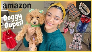 AMAZON FAVORITE DOGGY DUPES | OUTFITS & ACCESSORIES FOR DOGS | LAKSMY A SANCHEZ