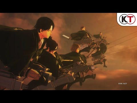 Attack on Titan 2: Final Battle - Launch Trailer thumbnail