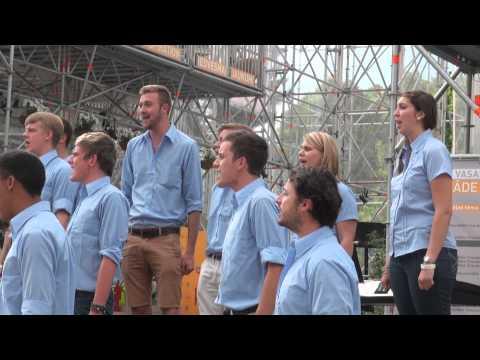 World Choir games 2014. Riga. North-West University PUK Choir, South Africa (16.07.2014 no 16.00)