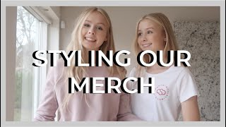 HOW WE STYLE OUR MERCH - izaandelle