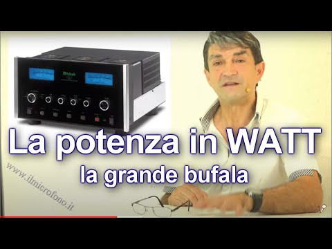 Quanti Watt ha l'Impianto Audio? ? Una Domanda Micidiale.Video