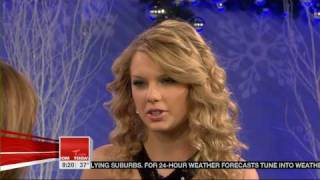 Taylor Swift - Christmas Songs on the Today Show 2007 - Christmas Is When You Were Mine