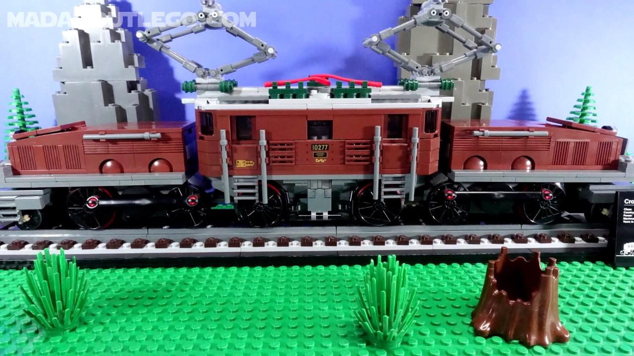 LEGO Trains Crocodile Locomotive 10277.