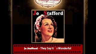 Jo Stafford – They Say It´s Wonderful