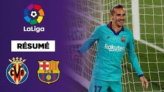 Le FC Barcelone s'est imposé sur la pelouse de Villarreal (4-1) avec la manière ! Antoine Griezmann s'est remis sur le bon chemin et Messi a régalé !
