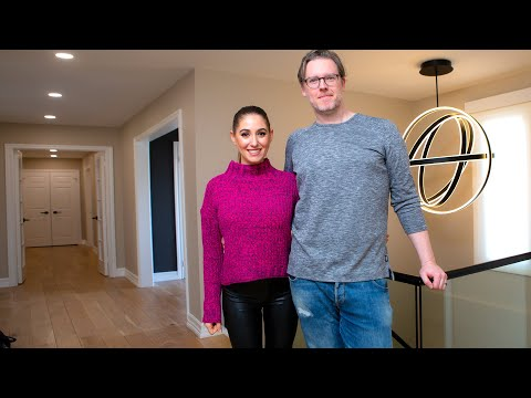 BEFORE & AFTER: Full Renovation of Hallway, Stairway & Entryway! (Dream Home Reno Ep. 6)