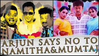 Arjun says no to Namitha, Mumtaj ?   Movie Nights   Sollividava   Black Sheep