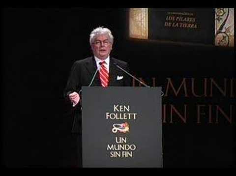 Ken Follett habla sobre Un mundo sin Fin (libro) Parte 2/2
