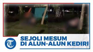 Viral Video Sepasang Kekasih Tepergok Mesum Gelap-gelapan di Alun-alun Magetan, Ini Kata Satpol PP