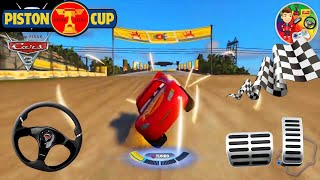 Super Cars of Lightning McQueen | Fireball Beach Backwoods Rally | Şimşek McQueen | Color Games