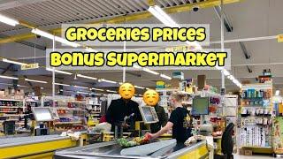Groceries Prices in Iceland's Bonus Supermarket