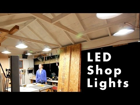 Upgrade Your Shop Lighting with LED Technology