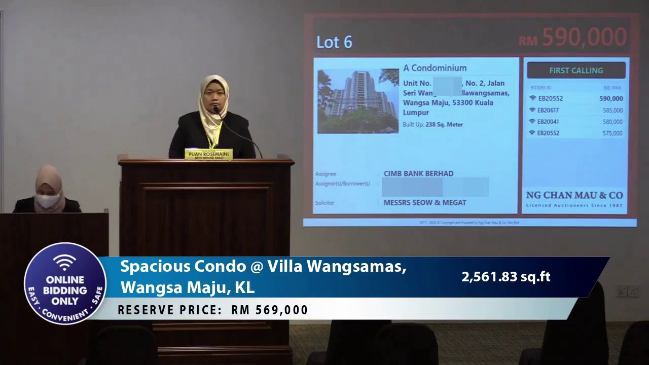 Prime Location at Villa Wangsamas, Wangsa Maju, KL SOLD at Below Market Price