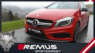 Video: Remus Komplettanlage am A45 AMG
