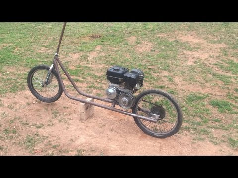 homemade motorized scooter part 1