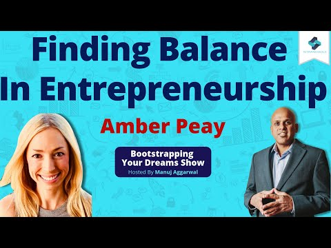 Launching A Homegrown Company | Finding Balance In ... - YouTube