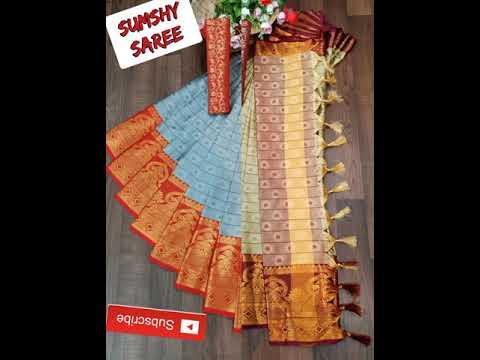 Linen Soft Silk Cotton Sarees