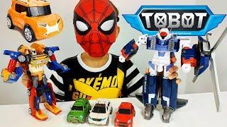 ТОБОТЫ: Тобот Тритан, Тобот Дельтатрон, Тоботы X и Y - Трансформируем Игрушки для мальчиков Челлендж