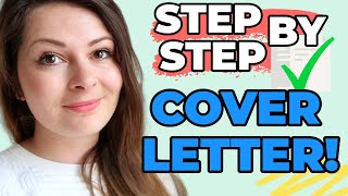 4 Steps To A Perfect Cover Letter W/ EXAMPLES (Cover Letters / Motivation Letters Recruiters LOVE)