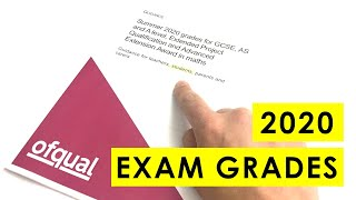 How Your Grades will be Awarded in 2020 -  GCSE and A Level