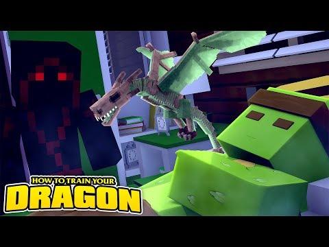 I GOT A NIGHTFURY & STOPPED DRAGON THIEVES! How To Train Your Dragon w/Tinyturtle