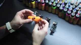 Смотреть онлайн Оборудование для тату салона: машинки, краска, иглы