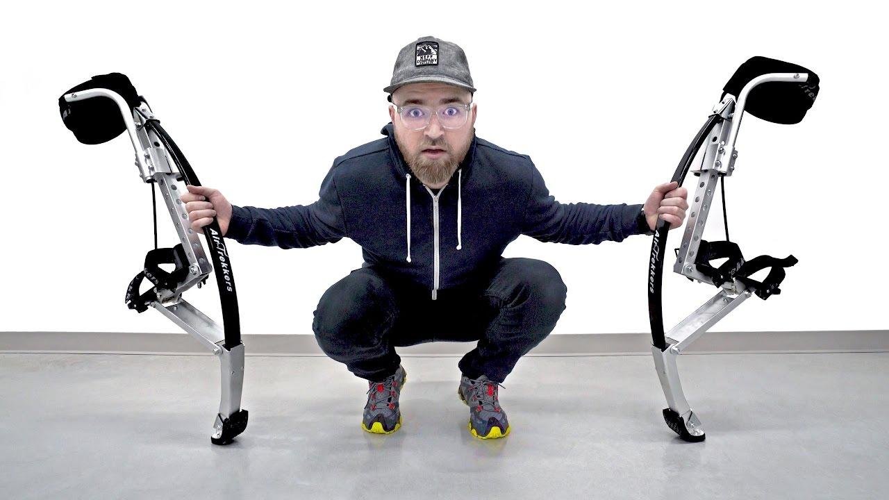 Testing My New Superhuman Legs thumbnail