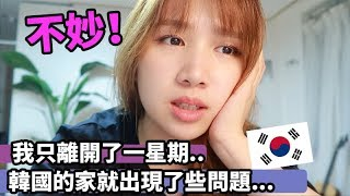 韓國生活◆求救阿!! 一回到韓國的家發現不妙... 心好累的一天韓國日常TT 我韓國的家水管塞了怎麼辦?! (含部份合作內容)| Mira 咪拉