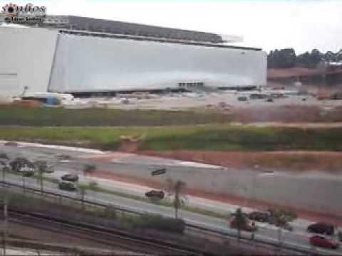 Arena Corinthians em 19 de janeiro de 2014