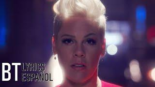 P!nk - Walk Me Home (Lyrics + Español) Video Official