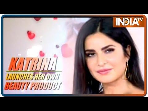Katrina Kaif launches her line of lipsticks called Kay Beauty