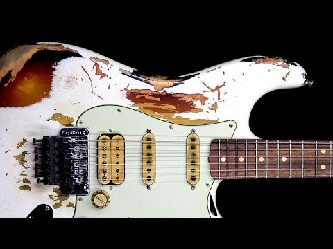 Filthy Blues Rock Guitar Backing Track Jam in D Minor