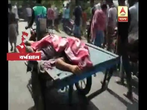 Accident at Kalna, housewife died