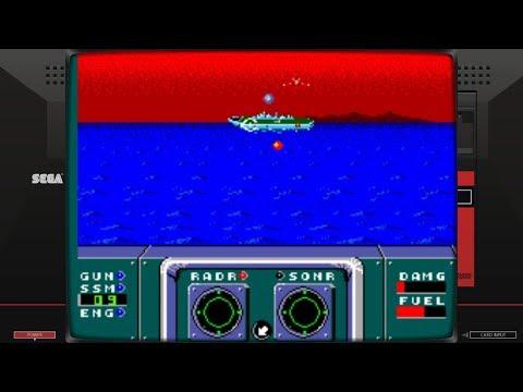 Poseidon Wars 3-D (Master System - Sega - 1988)